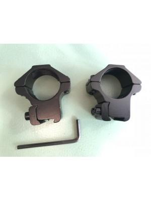 Montaža za malokalibrske puške - rinke: 25,4 mm - medium višina