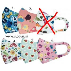 Zaščitna pralna maska za otroke za večkratno uporabo (OTROŠKA MASKA)