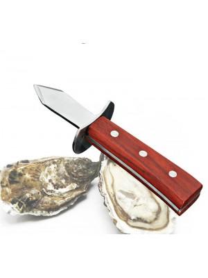 Nož za ostrige + darilo: steklenica penine