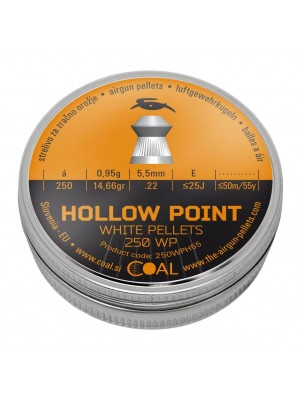 Coal diabolo HOLLOW POINT 5,5 mm (250WPH55)