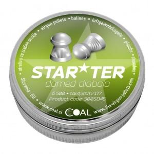Coal diabolo Starter 4,5mm okrogla konica (500SD45)