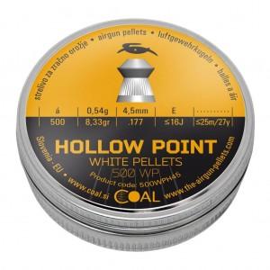 Coal diabolo HOLLOW POINT 4,5 mm (500WPH45)