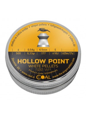 Coal diabolo HOLLOW POINT 4,5 mm (500WPH45)
