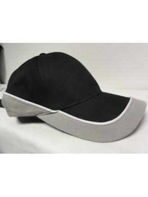 Kapa šilterica črno-siva
