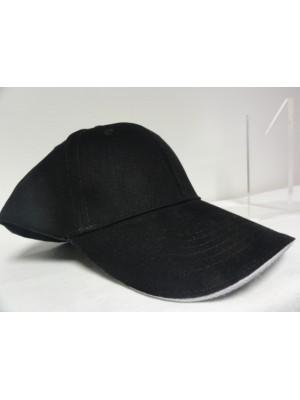Kapa šilterica črno-siva-bela