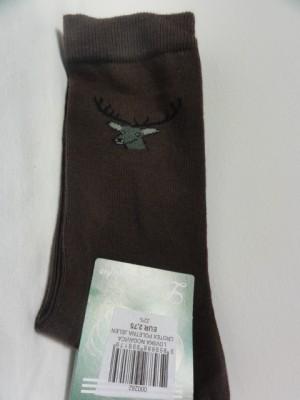 Lovske nogavice z motivom jelena (poletne zelene ali rjave)