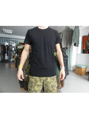 Majica s kratkimi rokavi premium črna