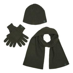 Deerhunter, model: 9021, kapa + rokavice + šal (darilni zimski paket)