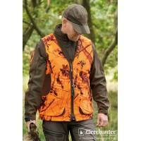 Deerhunter, model: 4672, vodoodbojni brezrokavnik Cumberland oranžno-zelen (Velikost: S)