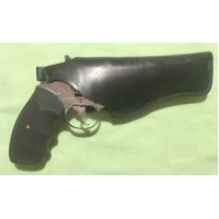 """PRIHAJA!!! Rabljeni usnjeni etui za revolver dolžine 4-5"""""""