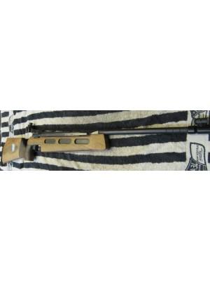 Diana rabljena tekmovalna zračna puška, model: Match 75, kal. 4,5mm