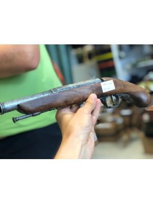 Dekorativna rabljena pištola z lesenim ogrodjem (123444)