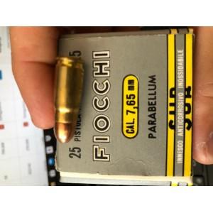 Fiocchi strelivo za kratkocevno orožje, kal. 7,65 PARA