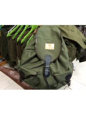 Lovski nahrbtnik iz zelene kordure z 2 žepi - KosF