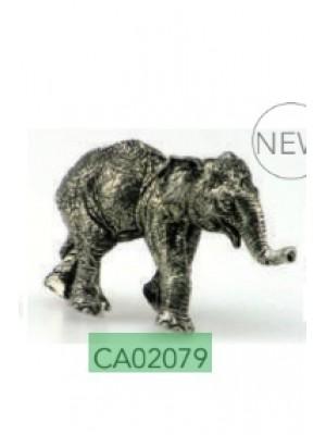 Lovergreen kovinski okrasni slonček (CA02079)