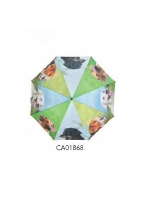 Lovergreen dežnik barven s psi (CA01868)