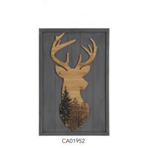 Lovergreen jelen v lesu - slika (CA01952)
