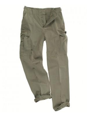 Lovske hlače bombažne zelene