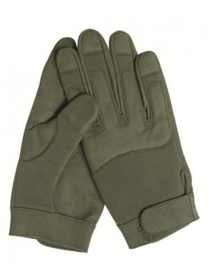 Lovske vojaške Miltec zelene rokavice