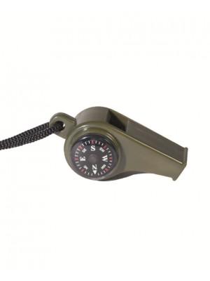 Lovska piščalka s kompasom in termometrom