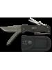 Martinez Albainox preklopni nož + žagica + škarjice + pinceta (črn)