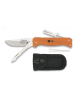 Martinez Albainox preklopni nož + žagica + škarjice + pinceta (oranžn)
