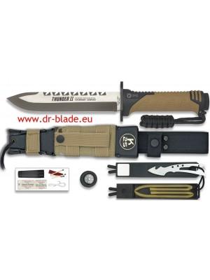 Martinez Albainox fiksni taktični nož THUNDER II-SERIE ENERGY z dodatki (32133)