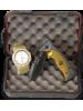 Martinez Albainox set lovskega borilnega noža United States Navy Seals + analogna zapestna ura