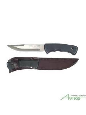 Mikov lovski fiksni športni nož, ročaj iz nedrseče gume