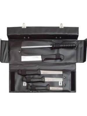Mikov komplet kuhinjski nožev + brusilna palica