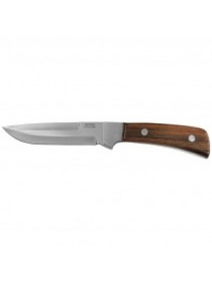Mikov lovski fiksni nož rjavi