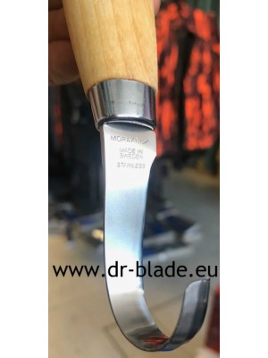 Mora nož za rezbarjenje, model: Wood Carving Hook knife 164S (stainless steel - nerjaveče jeklo)