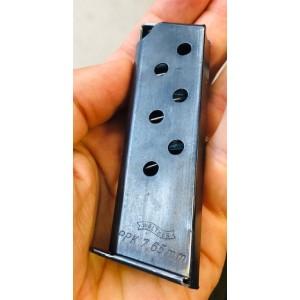 Rabljen nabojnik za pištolo Walther, model: PPK, kal. 7,65 mm