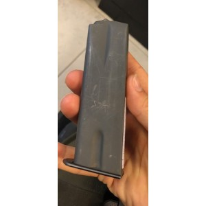 Rabljen nabojnik za pištolo Mauser, model: DA 90, kal. 9mm para (dvoredni nabojnik)