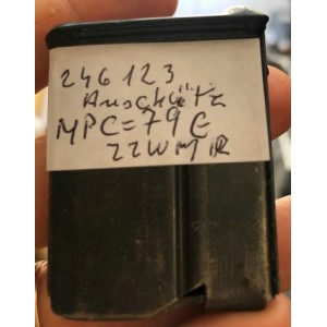 Rabljen nabojnik za puško Anschutz, kal. 22 Magnum