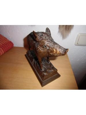 Leseni merjasec, idealno za darilo (ročno delo) iz enega kosa lesa