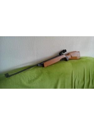 Haenel rabljena zračna puška, model: 303, kal.4,5mm z dioptri