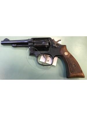 """Smith&Wesson rabljeni revolver, model: 10-5, kal.38 Spec. s 4"""" cevjo (nove slike)"""