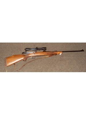 Mauser rabljena repetirna risanica, model: 2000, kal. 243 Win. + strelni daljnogled + SEM montaža