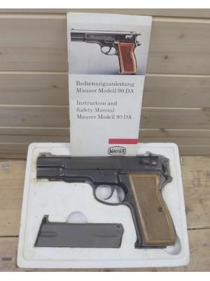PRIHAJA!!! Luger rabljena polavtomatska pištola, model: 90 DA, kal. 9x19