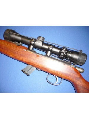 Anschutz rabljena mk risanica, model: 1416, kal. 22 LR + strelni daljnogled Bushnell 3-9x32 (križ: 30-30)