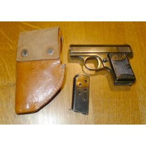 PRIHAJA!!! FN rabljena zbirateljska pištola, model: Baby, kal. 6,35 mm + usnjeni etui