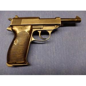 PRIHAJA!!! Walther rabljena zbirateljska pištola, model: P38, kal. 9mm Luger (z žigom Nemškega orla)