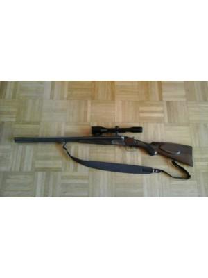 Suhl rabljena kombinirana puška - driling, model: Fortuna, kal.7x65R in 2x16/70 + strelni daljnogled  Hensoldt Wetzlar 6x42