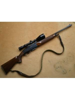 Remington rabljena polavtomatska risanica, model: 742, kal.308 Win. + strelni daljnogled Tasco 4-12x56