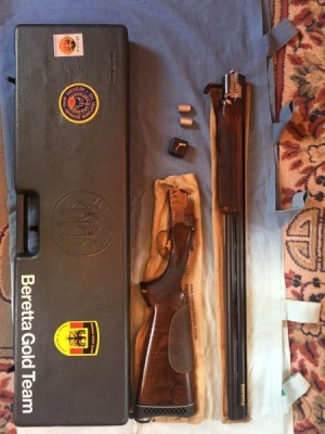 Beretta malo rabljena športna šibrenica za LEVIČARJE, model: 682 Gold, kal. 12/70