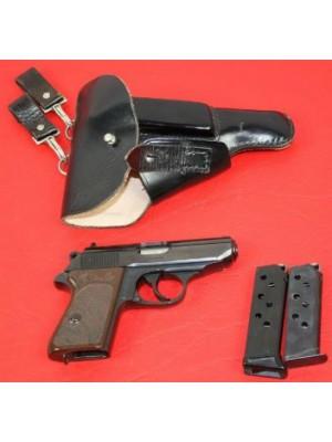 PRIHAJA!!! Walther rabljena pištola, model: PPK, kal. 7,65mm + 2 nabojnika + etui