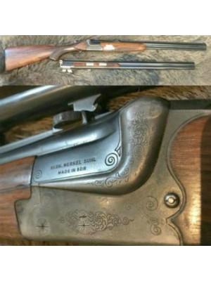 Merkel Q1 rabljena kombinirana puška, kal. 12/70 in 7x65R + menjalne cevi kal. 12/70