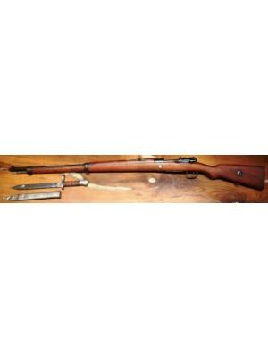 PRIHAJA!!! Nemški Mauser rabljena vojaška puška, model: Gewehr 98, kal. 8x57 IS + bajonet
