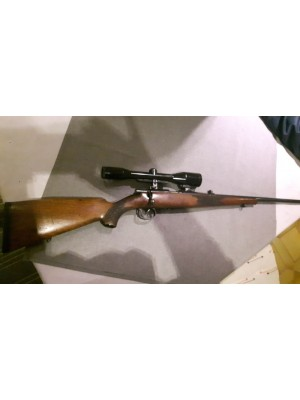PRIHAJA!!! Anschutz rabljena repetirna malokalibrska risanica, kal. 22 Magnum + SEM montaža + strelni daljnogled Zeiss 6x42